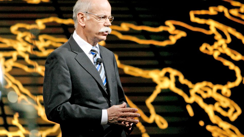 Daimler-Chef Zetsche: Der Druck der US-Börsenaufsicht bleibt hoch