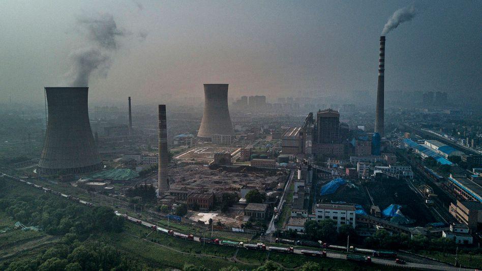 Klimasünder: Kohlekraftwerke in China.