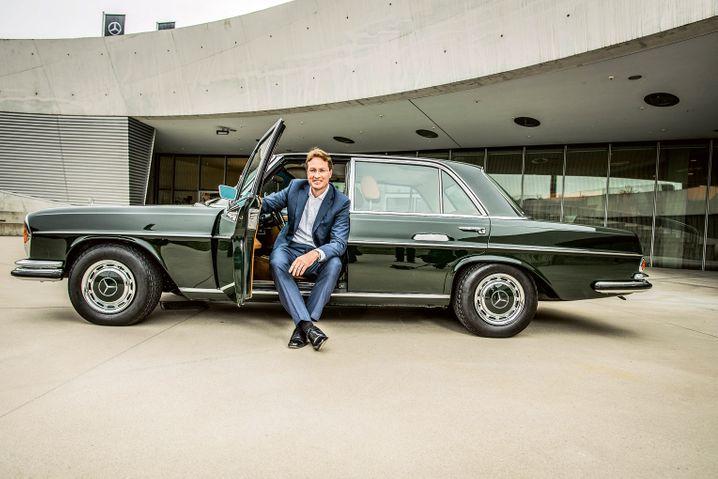 Als künftiger CEO übernimmt Ola Källenius bei Daimler das Steuer.