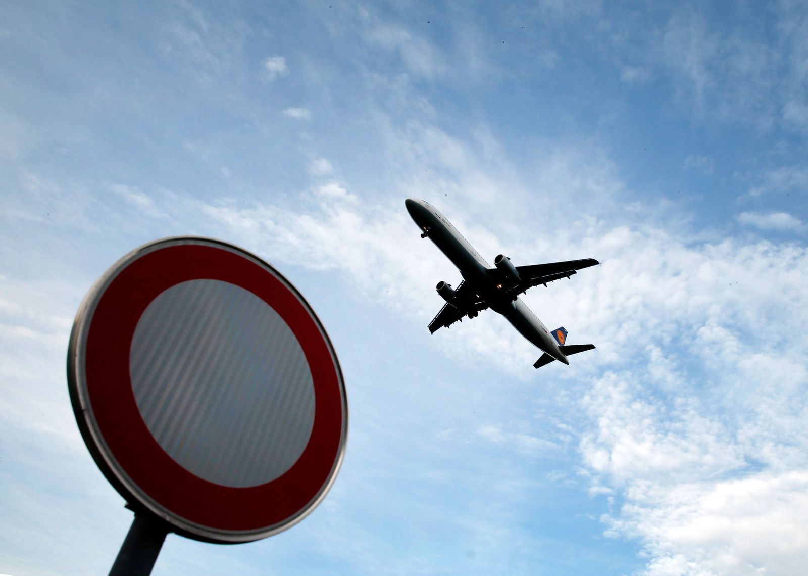 A German airline Lufthansa aircraft is pictured at Munich's airport