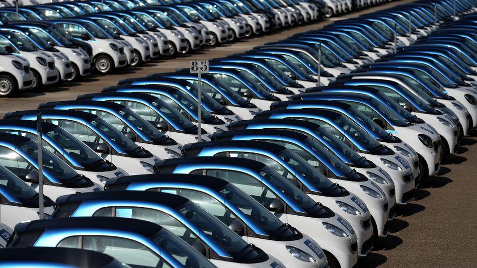 Smart-Produktion in Hambach, Frankreich: Durch das neue Joint Venture werden die Autos künftig in China entwickelt und produziert - das Design soll allerdings weiter von Mercedes-Benz-Designer Gorden Wagener stammen