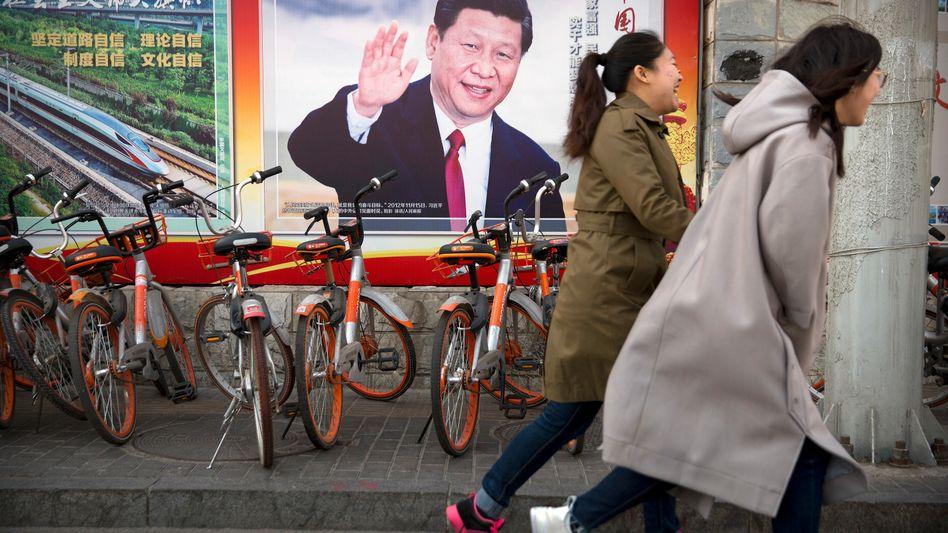 Chinas Präsident und Machthaber Xi Jinping.