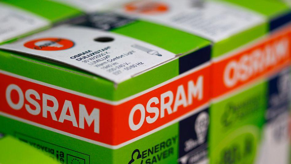 Osram-Leuchtmittel: Dem Großaktionär Allianz GI ist das Angebot von Bain und Carlyle zu niedrig