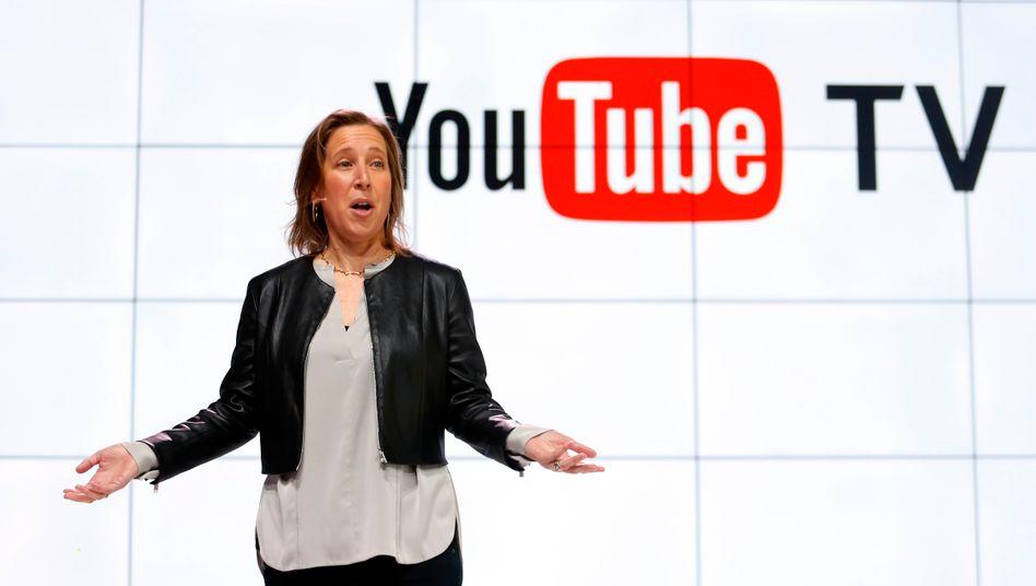Sie will, aber kann sie auch? Youtube-CEO Susan Wojcicki.