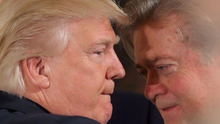 Trumps Ex-Chefstratege: Bannons Abstieg