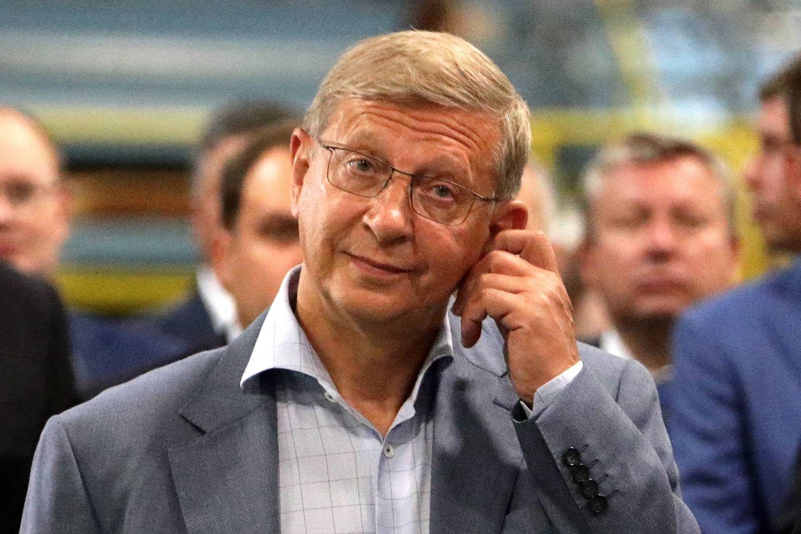 EINMALIGE VERWENDUNG Vladimir Yevtushenkov