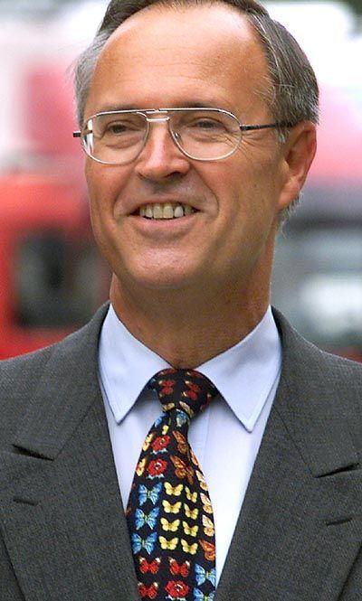 Farbenfroh: Die Krawatten des Finanzministers