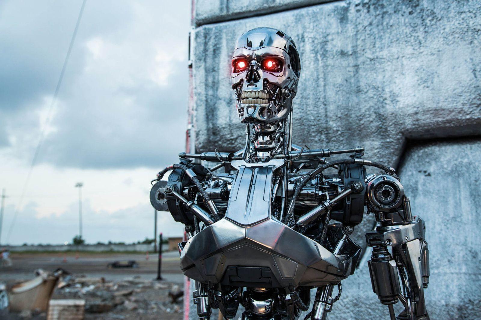 """Terminator Genisys"" film stills"
