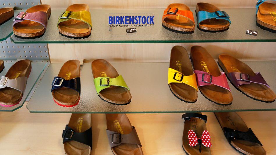 Sandalen für alle: Birkenstock befindet sich auf Wachstumskurs