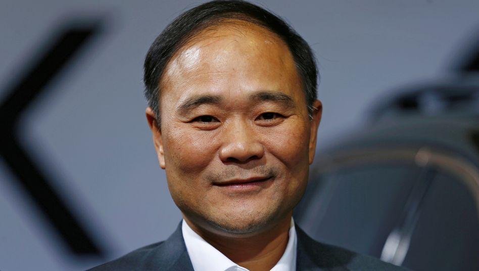 Geely-Gründer Li Shufu bietet Daimler eine Zusammenarbeit beim Smart-Nachfolgemodell an