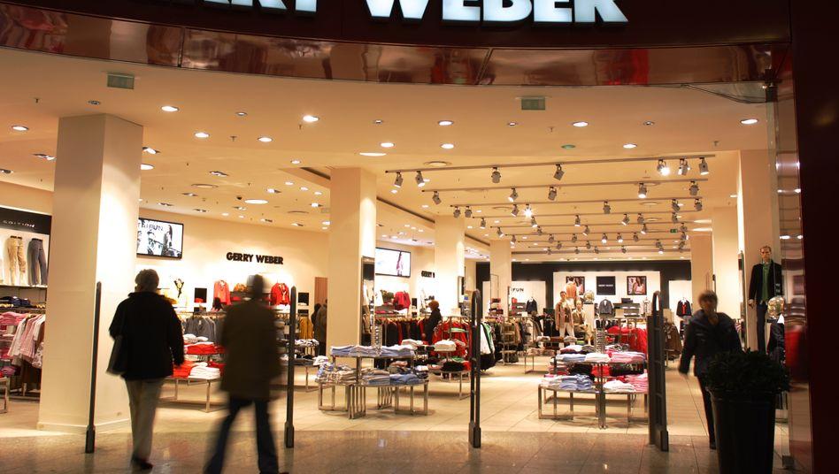 Gute Geschäfte: Auch in diesem Jahr rechnet Gerry Weber wieder mit einem Umsatzanstieg