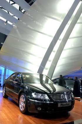 Der Phaeton von VW bietet alle Annehmlichkeiten einer Luxuskarosse