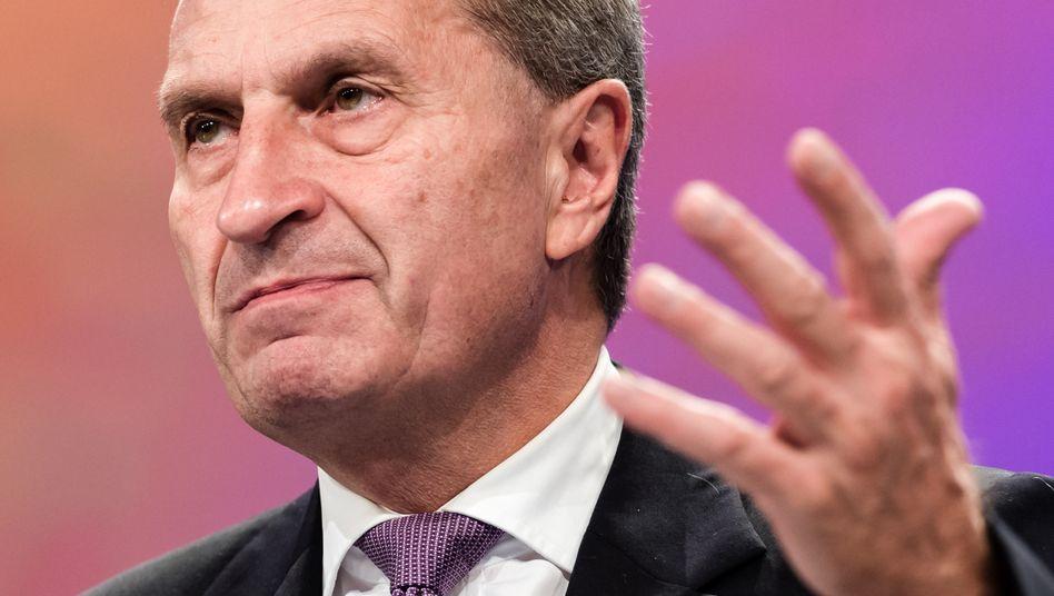 Neuland: Günther Oettinger als EU-Digitalkommissar