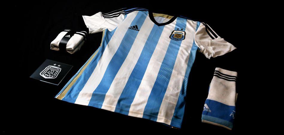 Wäre nur alles so klar wie das Trikot der argentinischen Nationalmannschaft: Ob die Finten eines Lionel Messi bei den Verhandlungen mit den Hedgefonds verfangen würden?