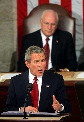 US-Präsident Bush legt einen Haushaltsplan vor, in dem rund 105 Milliarden Dollar für Militäreinsätze noch nicht enthalten sind