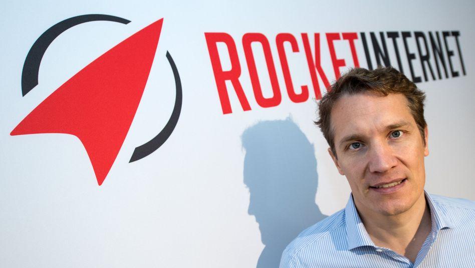 Rocket-Internet-Chef Oliver Samwer: Essenslieferungen sind derzeit die heißeste Wette des Konzern - dennoch trennt sich Rocket von einigen Diensten in Spanien, Italien, Mexiko und Brasilien
