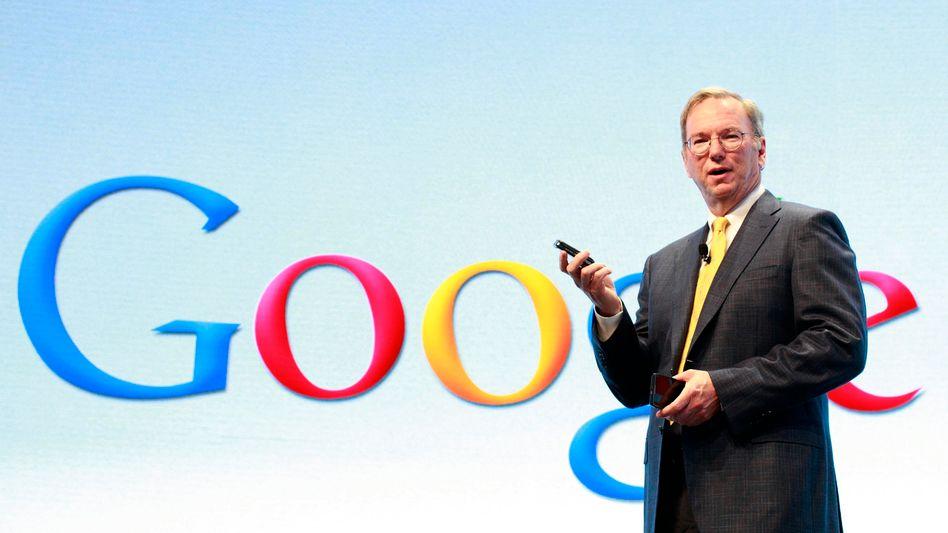 Eric Schmidt: Nach dem Anteilsverkauf hält der Google-Verwaltungsratschef nur noch 5 Prozent der Stimmrechte