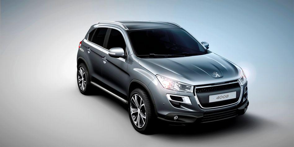 Peugeot-SUV 4008: Trotz neuer Modelle schwächelt der Absatz in Europa