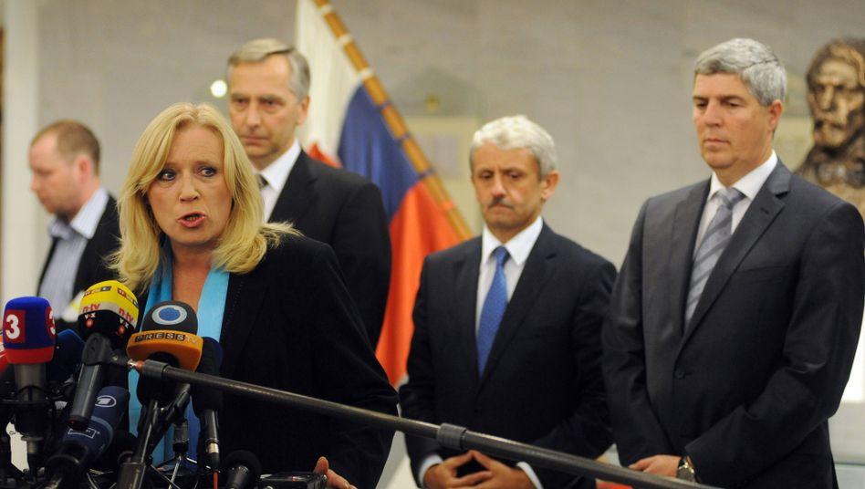 Iveta Radicova: Für Europa geopfert