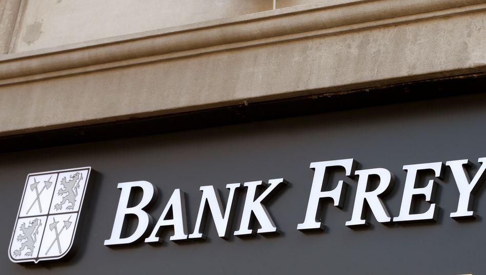 Bank Frey in Zürich: Der Druck der US-Steuerbehörden war zu hoch