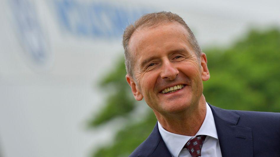 Herbert Diess: Der Volkswagen-Chef darf weitermachen bis Herbst 2025
