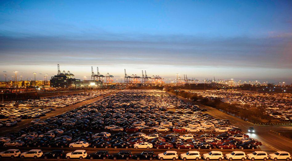 Bremerhaven im Dämmerlicht: Europas Konjunkturlok zieht nicht mehr