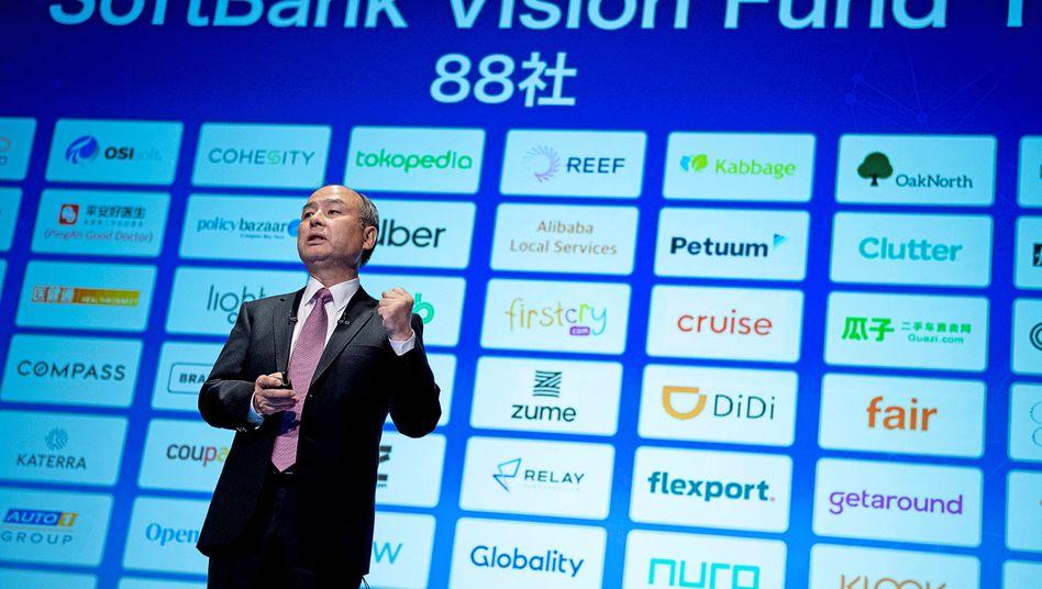 King of Kapital: SoftBank-Chef Masayoshi Son. Aus seinem Vision Fund fließen Milliarden in nicht börsennotierte Start-ups.