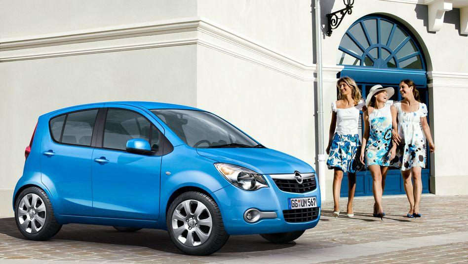 Opels Kleinwagen Agila kostet neu rund 11.000 Euro - doch Opel will im Einstiegssegment unter die 10.000 Euro-Marke