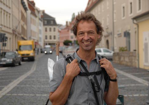 Forscher der Promenadologie: Bertram Weisshaar (58)