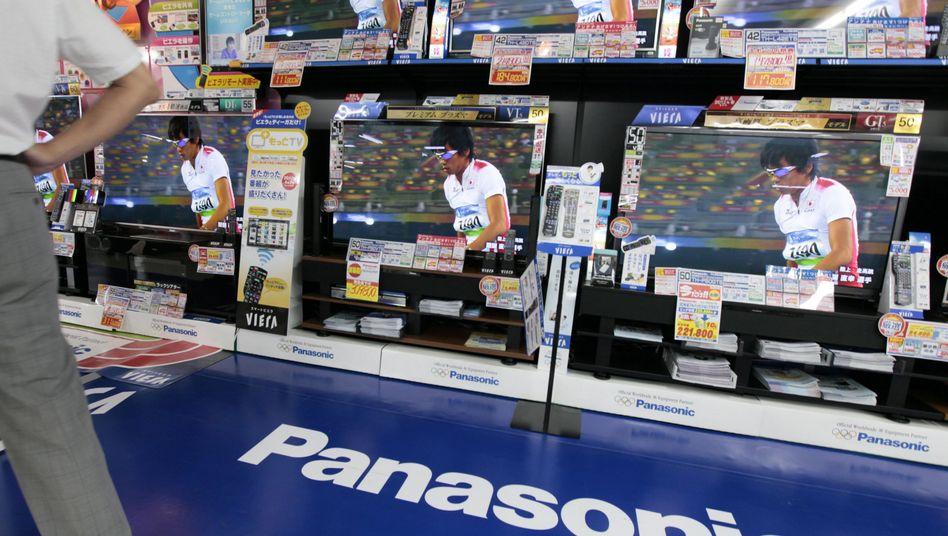 Panasonic-Ware in Tokio: Geringere Wettbewerbsfähigkeit bei Fernsehgeräten und Bildschirmen