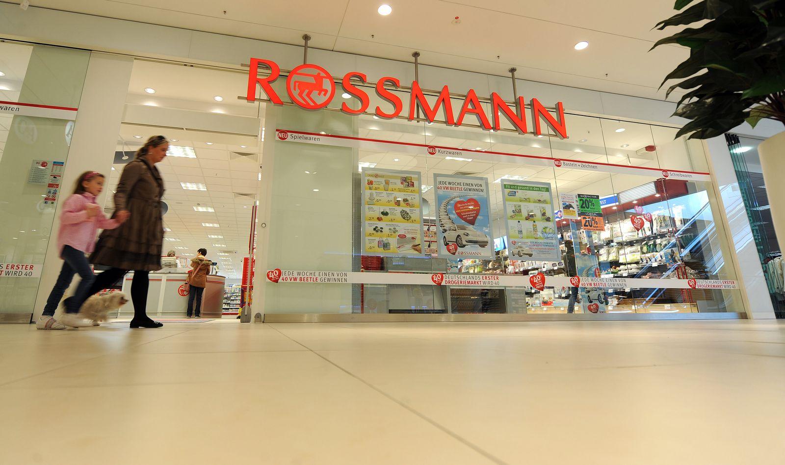 Filiale Drogeriekette Rossmann