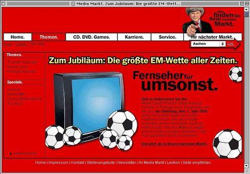 Wettaktion-Werbung von Media Markt: Pfiffig oder infam?