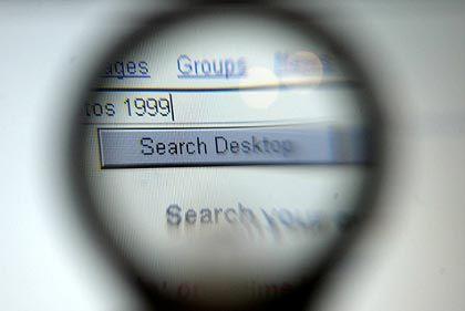 Fast allen Nutzern bekannt: Suchmaske von Google