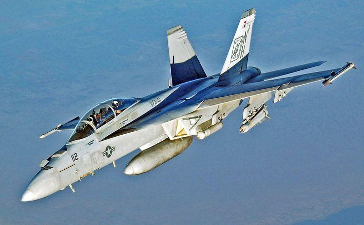 Probleme im eigentlich boomenden Rüstungsgeschäft: Boeings F/A-18F Super Hornet.