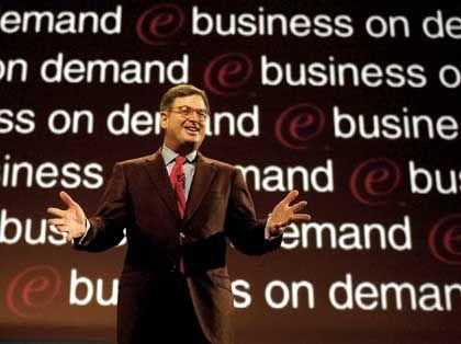Herausforderer: IBM-Vormann Sam Palmisano