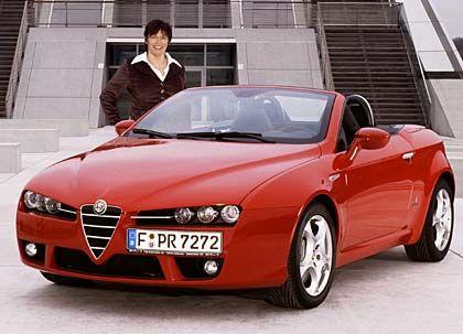 """Testerin Katerbau und der Alfa Spider: """"Cabrioverdecke sollten nur bei Hagelschlag geschlossen werden"""""""