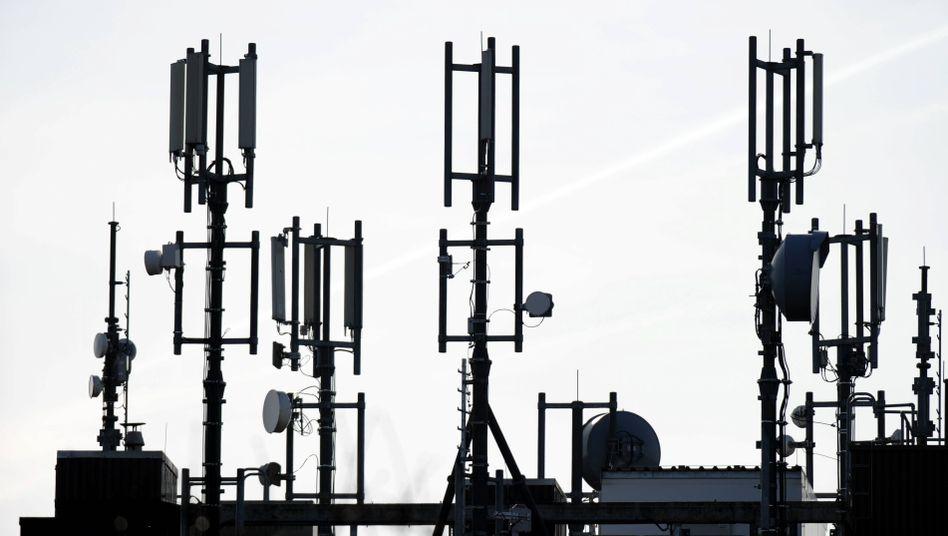 Mobilfunkantennen: Allein Frequenz-Auktionen spülten im ersten Halbjahr 4,4 Milliarden Euro in die Bundeskassen