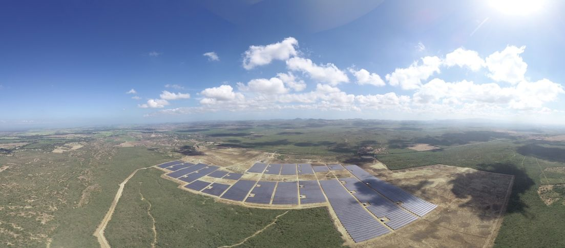 Blue Elephant Energy / Montecristi / Solarfelder, Solarpanel, Solar