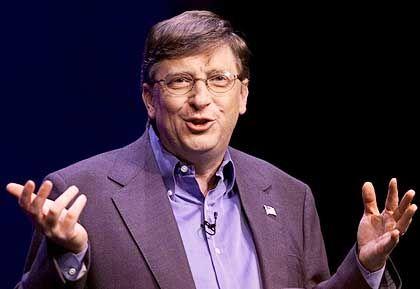 """""""Sicher wie Elektrizität, Wasser und Telefon"""": Selbsternannter Sicherheitsexperte Bill Gates"""