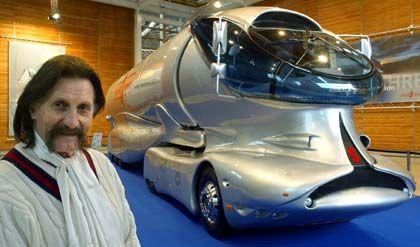 Entwurf eines aerodynamischen Lastwagens: Der Truck soll nur 20,9 Liter Diesel auf 100 Kilometer verbrauchen