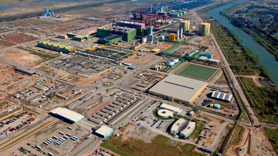 Ladenhüter: ThyssenKrupp-Anlage in Brasilien