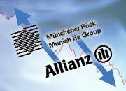 Die Versicherungskonzerne Allianz und Münchener Rück lösen zusehends ihre Überkreuzbeteiligungen auf