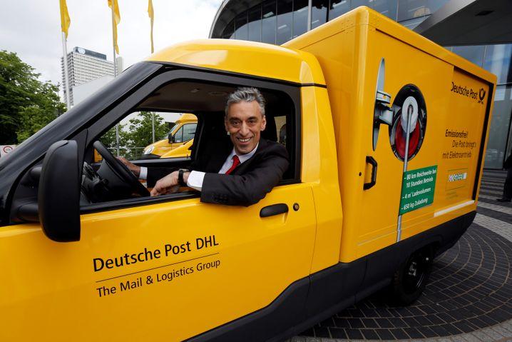 Post-Chef Frank Appel lehnte einen Pakt mit VW ab.