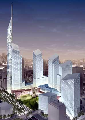 """Libeskind-Entwurf für den """"Freedom Tower"""": Schlanker Kompromiss"""