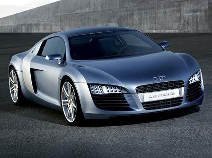 Audi Le Mans: Als R9 will Audi die Studie Le Mans spätestens 2007 auf den Markt bringen.