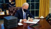 Joe Biden dreht das Trump-Rad rückwärts