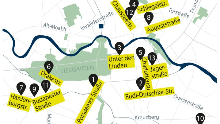 Spitzenköche: Sternerestaurants in Berlin