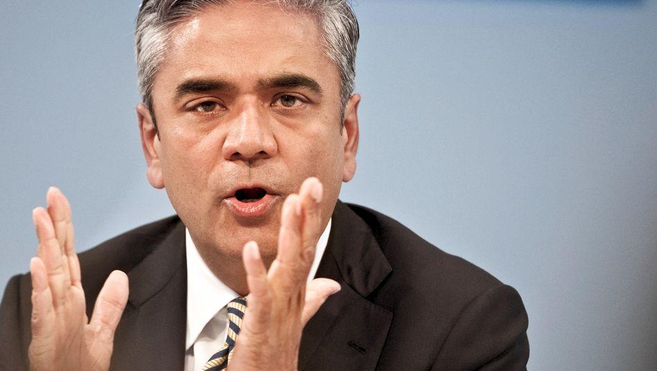 Anshu Jain, Mitglied der Doppelspitze der Deutschen Bank: Libor-Skandal lastet auf Deutschlands bedeutendstem Geldhaus
