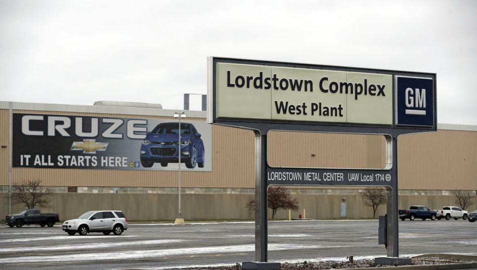 Fabrik von General Motors in Lordstown West