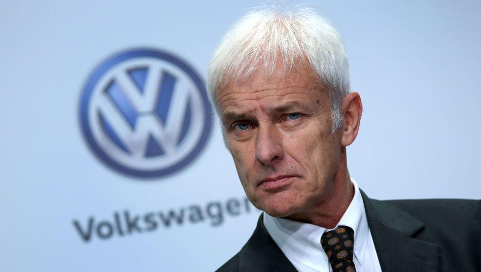 Volkswagen-Chef Matthias Müller: The Devil lies in the Detail